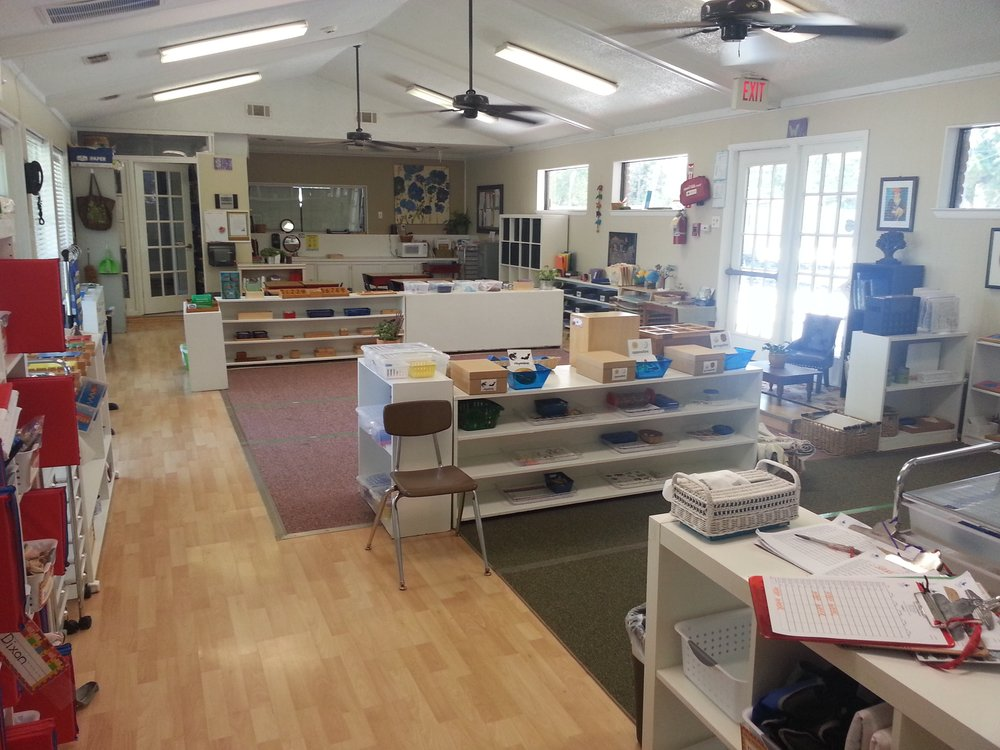 Our spacious and beautiful Primary Classroom