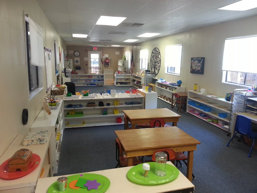 Spacious Primary Classroom