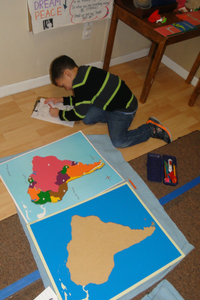 Geography Montessori Method