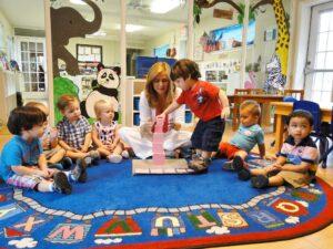 klein-spring montessori preschool classroom